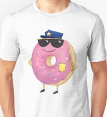 Donut Cop Police T-Shirt