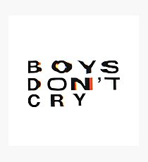 Frank Ocean BOYS DONT CRY Photographic Print