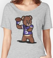 VICTRS - Teddy Football™ Women's Relaxed Fit T-Shirt