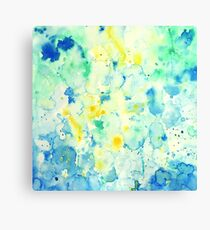 Watercolor abstract landscape Painting Canvas Print