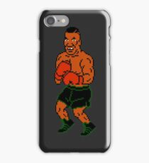 Mike Tyson sprite - Punch Out! iPhone Case/Skin