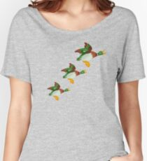HOME SWEET HOME 2 - THREE FLYING DUCKS Women's Relaxed Fit T-Shirt