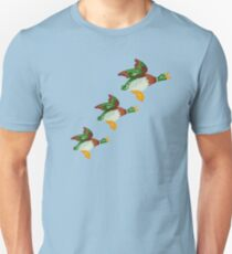HOME SWEET HOME 2 - THREE FLYING DUCKS Unisex T-Shirt