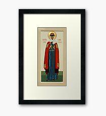 St. Juliana Framed Print