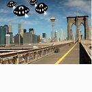 Aliens invade New York by funkyworm