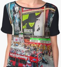 Times Square II Special Edition II Women's Chiffon Top