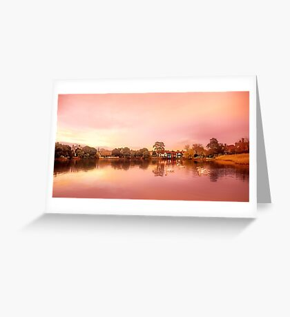 Beaulieu village Greeting Card