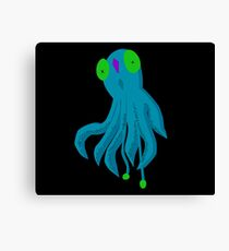 To Be A Squid Canvas Print
