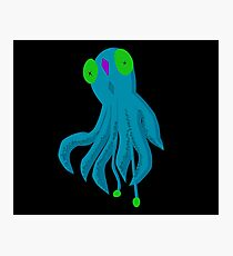To Be A Squid Photographic Print