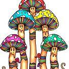 Mushroom Forest by ogfx