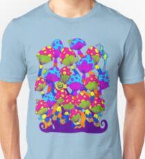 Indie Mushrooms Unisex T-Shirt
