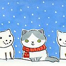 Snow Cats by Zoe Lathey