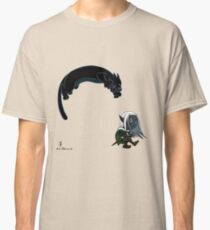 Drizzt and Guenhwyvar Classic T-Shirt