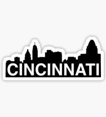 City of Cincinnati, Ohio skyline Sticker