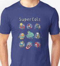 Superheroes Cats T-Shirt