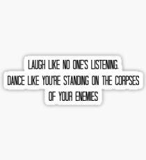 Laugh and Dance Sticker