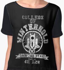 Skyrim - College Of Winterhold - College Jersey Chiffon Top