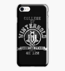 Skyrim - College Of Winterhold - College Jersey iPhone Case/Skin