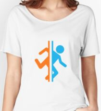 Portal silhouette Women's Relaxed Fit T-Shirt