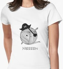 Yarrrn Womens Fitted T-Shirt