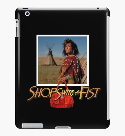 Shops with a Fist iPad Case/Skin