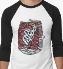 Crushed Dr Pepper Tin Men's Baseball ¾ T-Shirt
