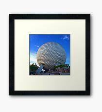 Epcot Center Spaceship Earth Framed Print