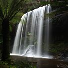 Russell Falls - Tasmania by Ursula Rodgers
