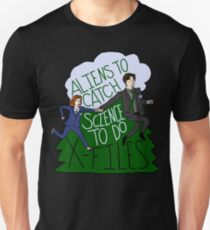 Aliens To Catch, Science To Do T-Shirt