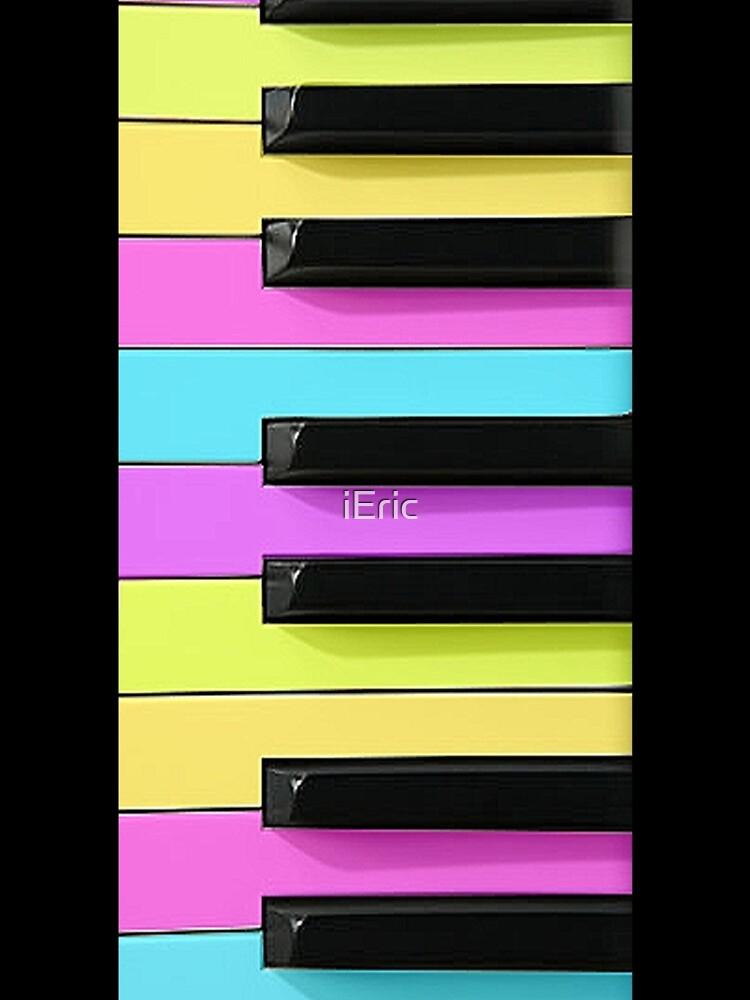 Retro Neon Keyboard by frittata