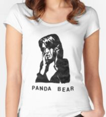 Panda Bear (Tomboy) Women's Fitted Scoop T-Shirt