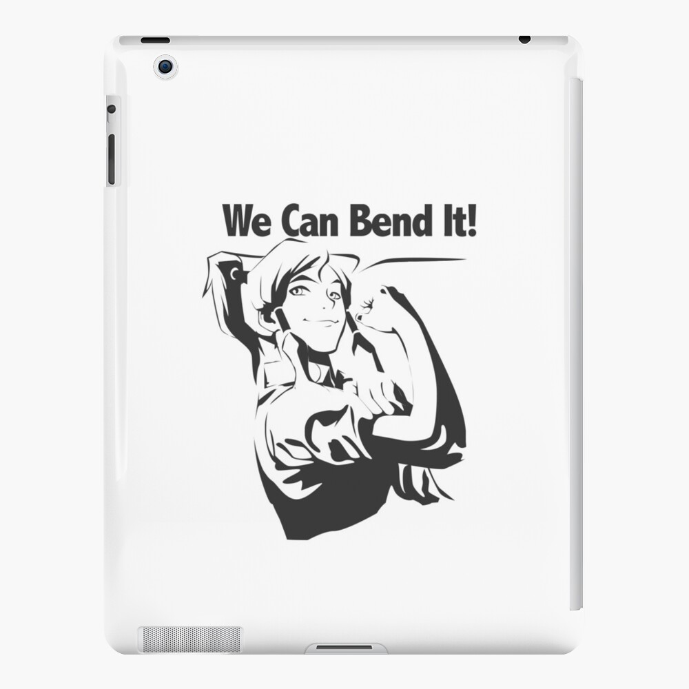 Wir können es biegen iPad-Hüllen & Klebefolien
