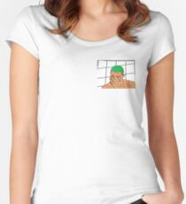 Frank ocean Women's Fitted Scoop T-Shirt