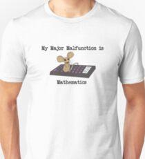 Mathematics Major Unisex T-Shirt