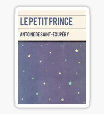 Le Petit Prince Cover Art Sticker