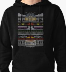 Back to the Future Christmas Pullover Hoodie