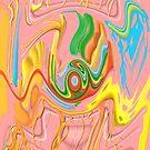 """Drippy Flux"" by jaartist29"