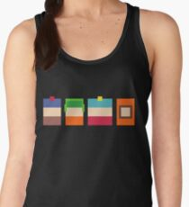South Park Boys Pixel Art Women's Tank Top