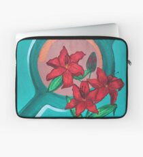 LILIES FOR MY LOVE Laptop Sleeve