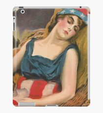 Wake up America! Civilization calls every man, woman and child! iPad Case/Skin