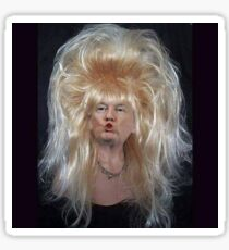 Big Hair Donald Trump Sticker