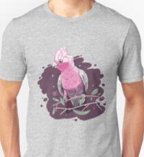 Pink & Grey Galah Unisex T-Shirt