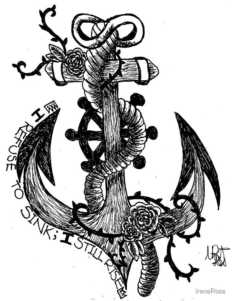 Infinity Anchor with quote \