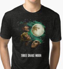 Les Enfants Terribles - Three Snake Moon Tri-blend T-Shirt