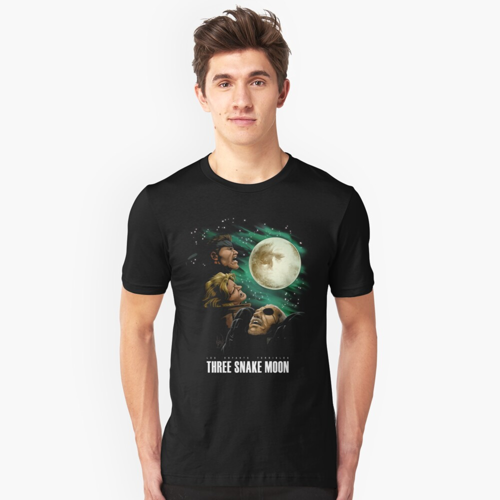 Les Enfants Terribles - Three Snake Moon Unisex T-Shirt Front