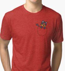 Pocket Litten (Pokemon) Tri-blend T-Shirt