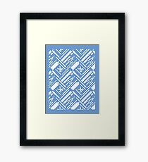 Art is Life Series - Pattern Framed Print