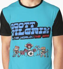 Scott Pilgrim Vs The World The Game Graphic T-Shirt