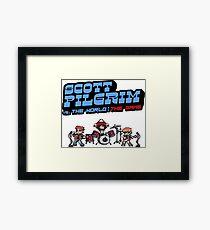 Scott Pilgrim Vs The World The Game Framed Print