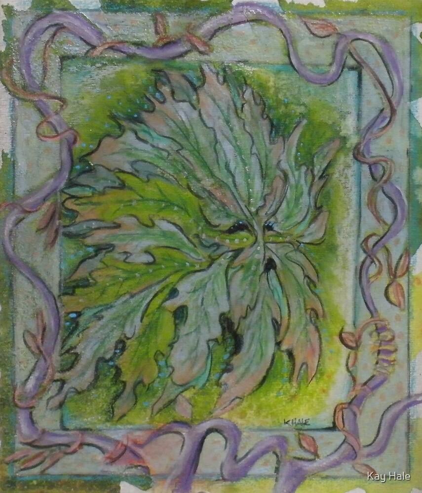 Green Man #3 by Kay Hale